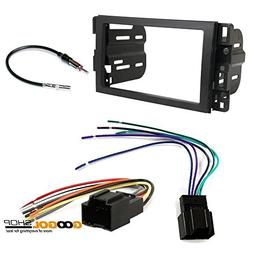 Chevrolet 2007-2014 Tahoe  CAR Stereo Dash Install MOUNTING