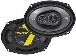 Kicker CS Series 6.5'' + 6x9'' Car Speakers, CSC65 + CSC693