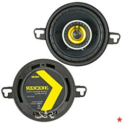 "Kicker CSC35 / 43CSC354 90 Watts 3.5"" 2-Way Car Speakers"