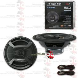 ORION CT-653 6.5-INCH 3-WAY CAR AUDIO COAXIAL SPEAKERS  6-1/