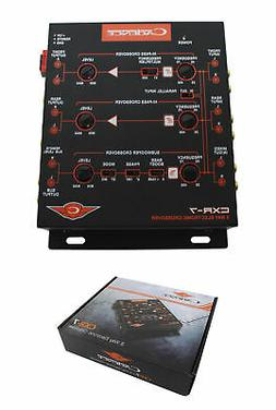 Cadence Acoustics CXR7 3-Way Electronic Crossover with 7V Li