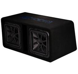 Kicker DL7S12 Car Audio Loaded L7 Solo Baric Square Dual 12""