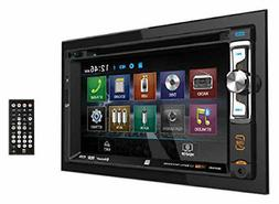 Dual Double DIN AM/FM/MP3/WMA DVD/CD Receiver, 50W x 4 with