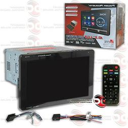 "Power Acoustik Double Din CD DVD In-Dash 10.3"" Bluetooth Car"