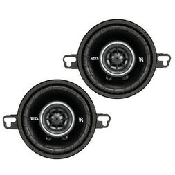 Kicker DSC350 3.5-Inch  Coaxial Speakers, 4-Ohm