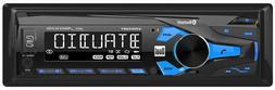 Dual 1-DIN Digital Media Receiver Car Stereo with Bluetooth