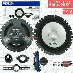 Alpine Type-E Series SXE-1750S Car Audio 6.5-Inch Component