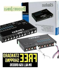 CLARION EQS755 Car Audio 7-Band Graphic Equalizer with 3.5MM