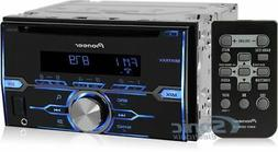 PIONEER FHX520UI Double-Din CD Player with Mixtrax and iPod