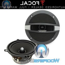 "FOCAL AUDITOR MIDRANGE & GRILLS 5.25"" ONLY FROM CAR AUDIO CO"