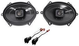 Polk 5x7 Front Speaker Replacement Kit for 1999-2004 Ford F-