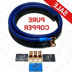 GP Car Audio Big 3 UPGRADE wiring Kit OFC COPPER TRUE 1/0 AW