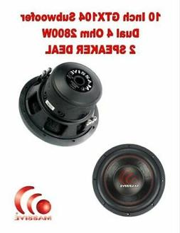 Car Subwoofer by Massive Audio   Subwoofers Woofer with Amaz