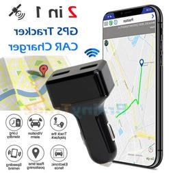 Real Time Vehicle Tracking Device Car GPS Tracker & USB Char