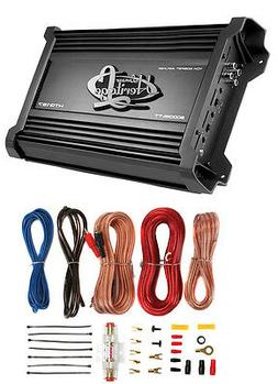 Lanzar Amplifier Car Audio, Amplifier Monoblock, 1 Channel,