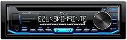 JVC KD-RD79BT Single DIN Bluetooth Car Stereo, iPod and Andr