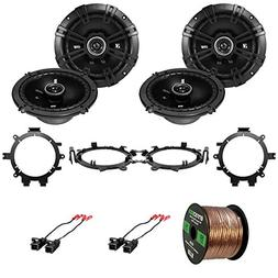"EnrockAutomotive 4X Kicker 43DSC6504 6.5"" 240W 2-Way Speaker"