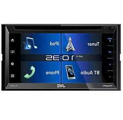 "JVC KW-V330BT in-Dash DVD Receiver 6.8"" Double DIN Bluetooth"