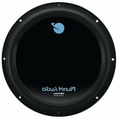 "Planet Audio 12"" Watt Audio Single Subwoofer DVC Ohm"