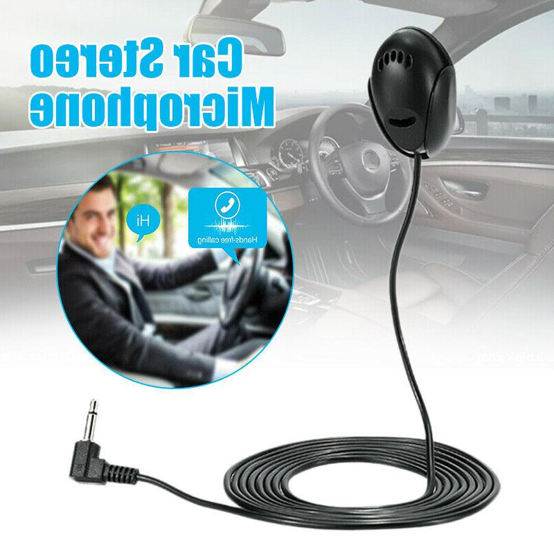 3 5mm car stereo microphone bluetooth vehicle