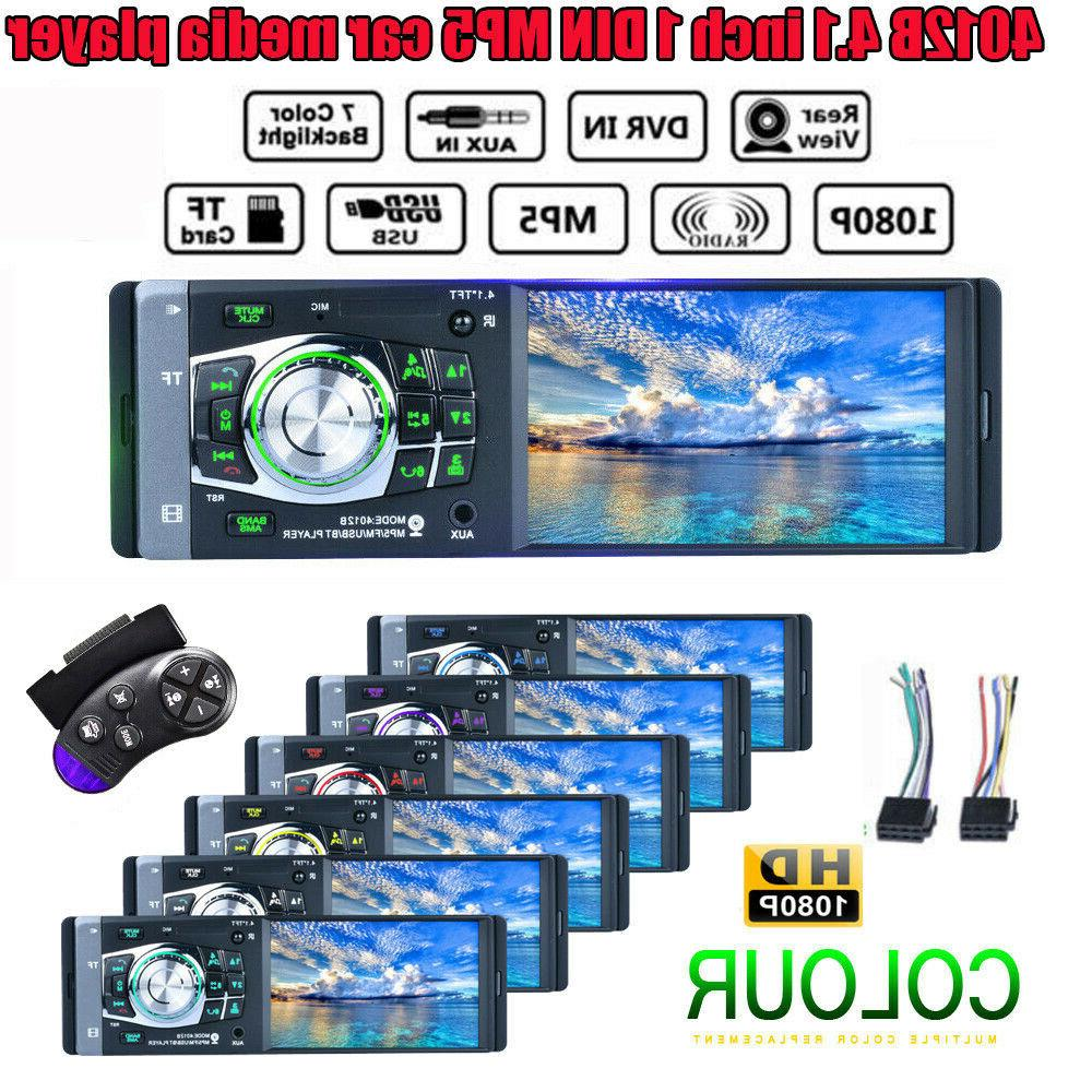 "4.1"" HD Car Player FM Radio AUX"