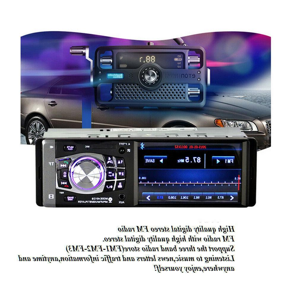 "4.1"" HD Car Player AUX"