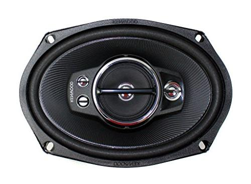 """4) New Kenwood 6x9"""" 1300 Car Coaxial Stereo"""