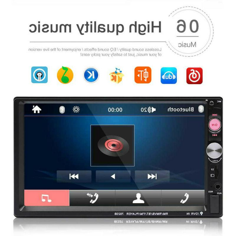 "7"" Multimedia FM CD MP5 bluetooth Stereo Radio Player"