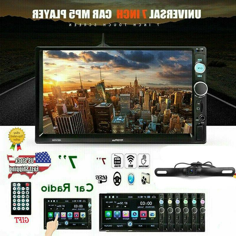7 double 2din car mp5 player bluetooth