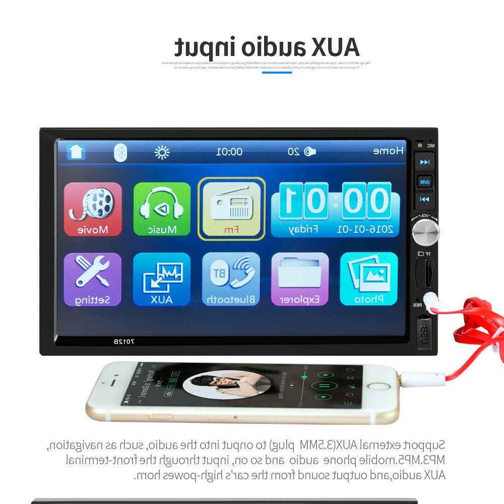 "7"" Screen Player Bluetooth FM Mirror Link"