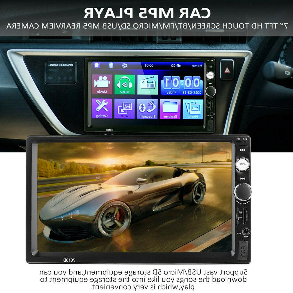 "7"" Radio Mp5 Touch 2din&Camera"