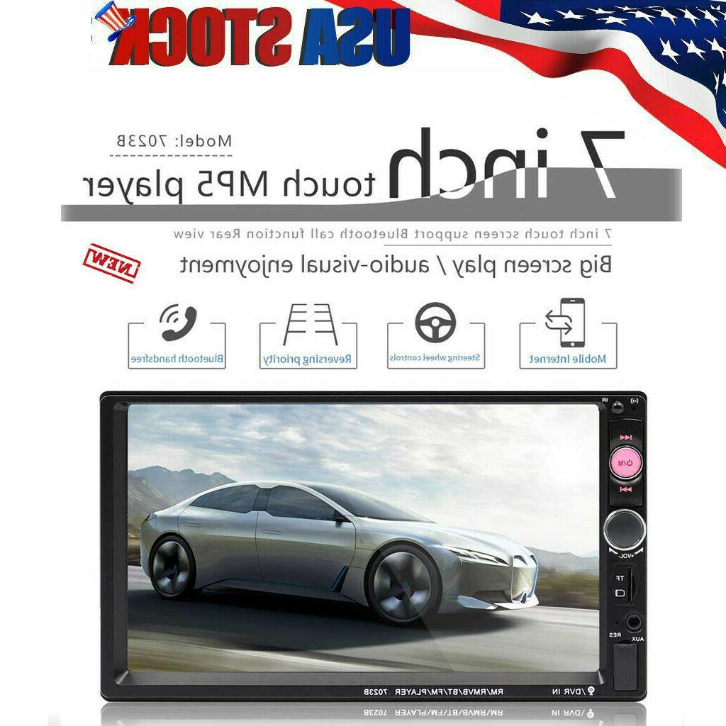 "7"" Inch LED Stereo HD Player Radio 2DIN"