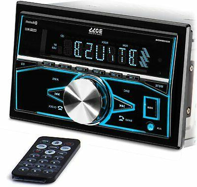 820brgb multimedia car stereo double din bluetooth