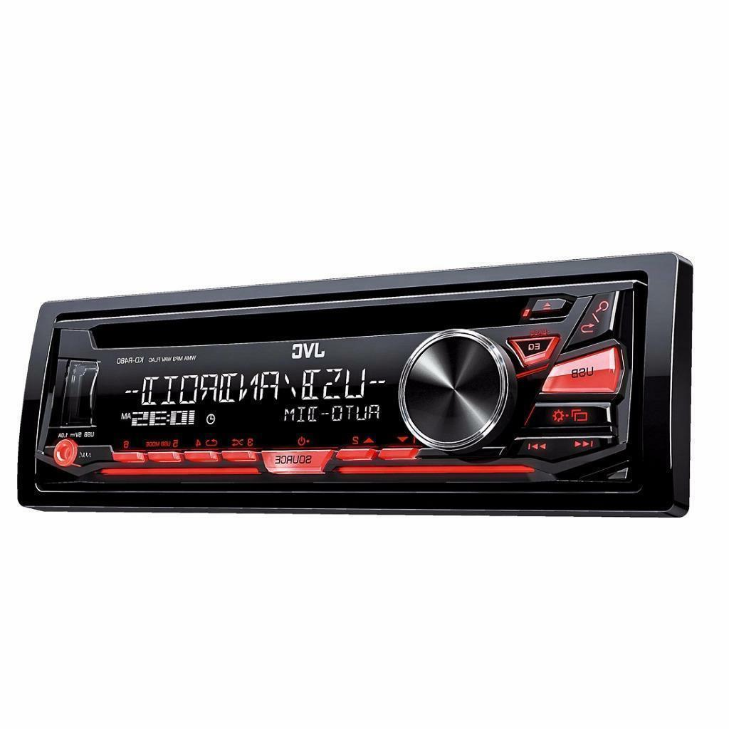 BRAND NEW JVC KD-R480 Car Stereo In-Dash CD MP3 Receiver w/