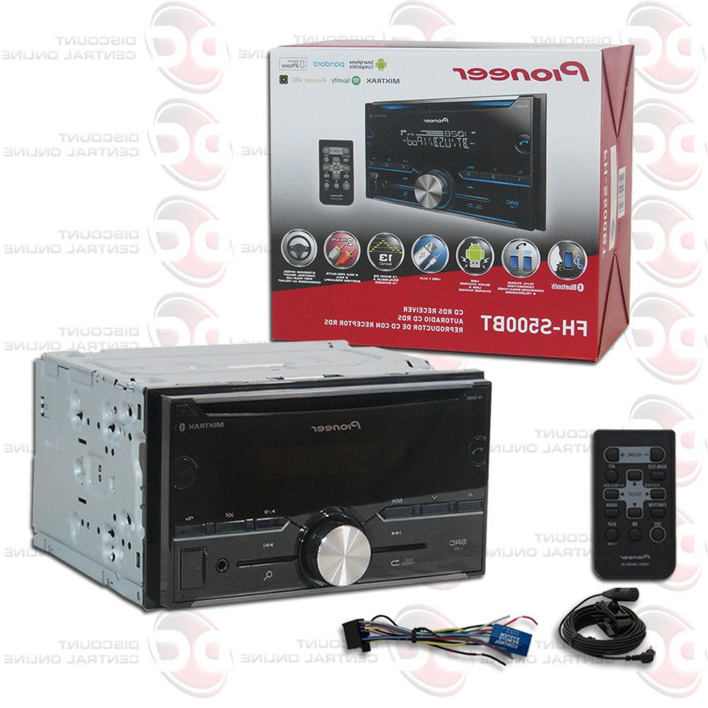 PIONEER DOUBLE DIN 2DIN CAR MP3 CD BLUETOOTH STEREO WORKS WI