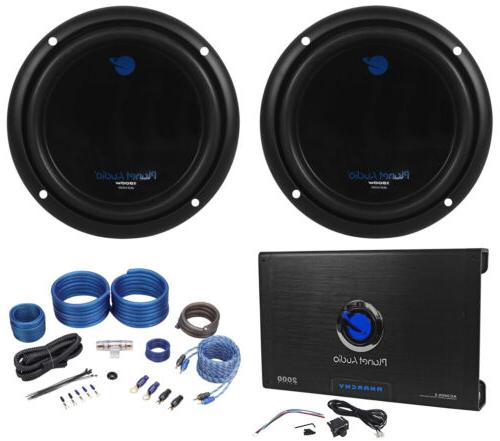 "PLANET AUDIO AC10D 10"" 3000W Subwoofers+AC2000.2 2 Channel"