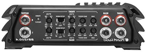 Planet BB1200.4 Bang Watt, Channel, Class A/B, Range, Bridgeable, MOSFET with Remote