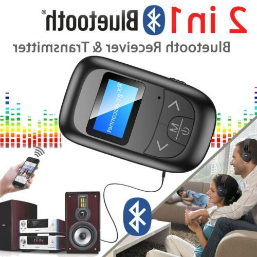 Bluetooth 5.0 Transmitter Receiver for Car AUX Speakers USA