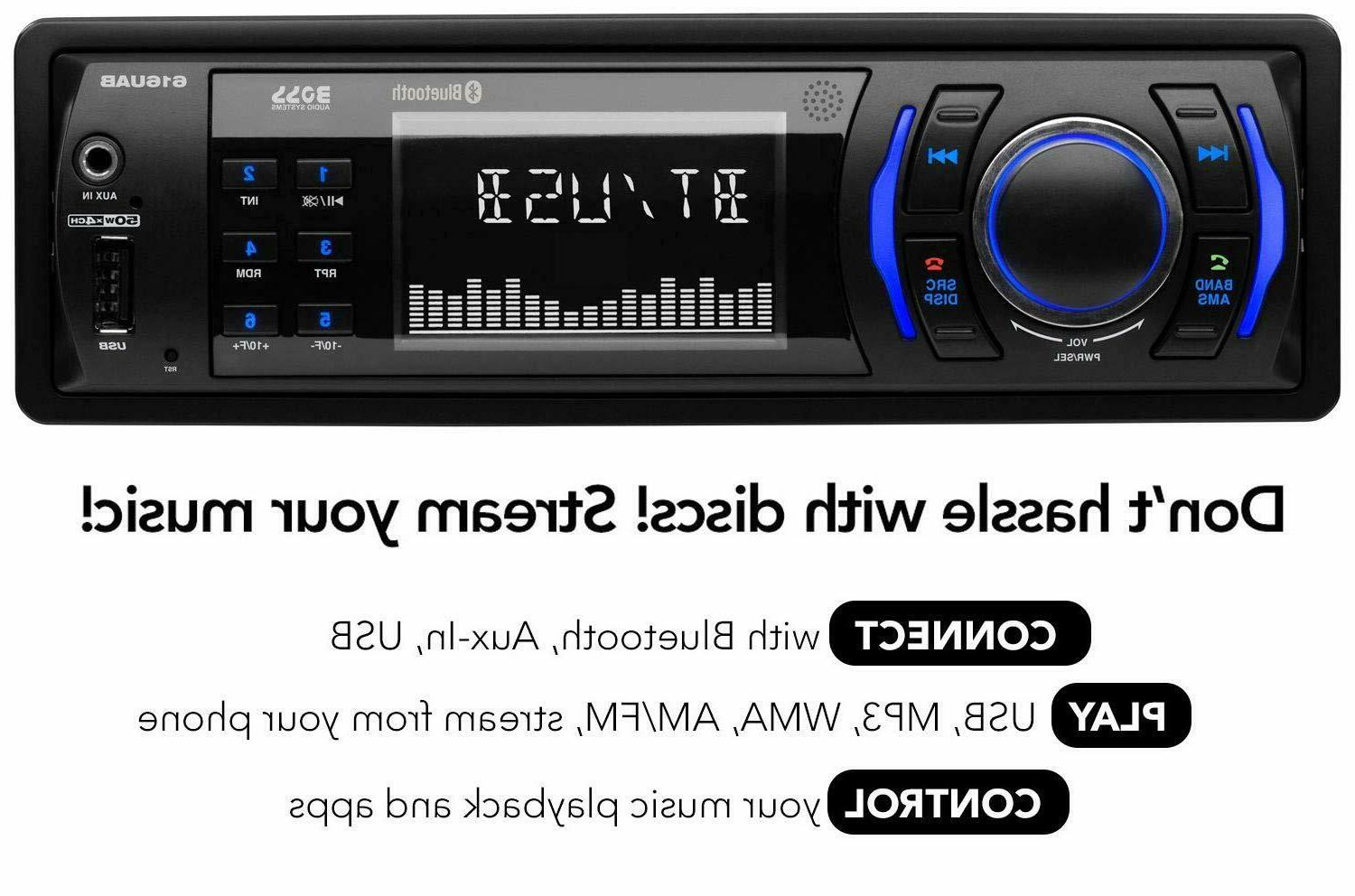 Stereo Aux-in, Radio