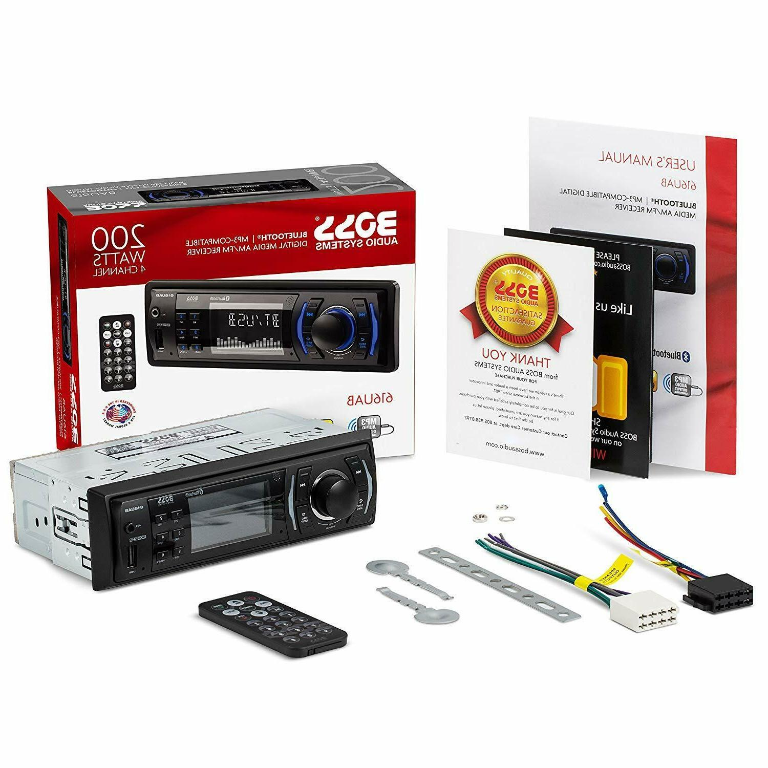 Boss AUX Radio Car Stereo Receiver Audio NEW