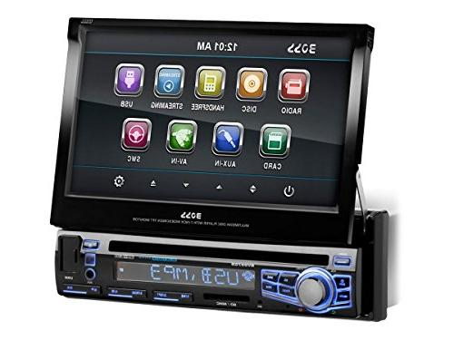 "BOSS AUDIO Car DVD - 7"" Touchscreen Single"