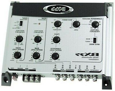 bx35 amp electronic crossover