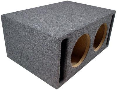 Car Dual Inch Slot Vented Labyrinth SPL Sub Box