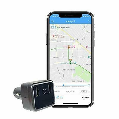 car gps tracker and usb charger