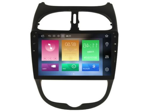 Car Stereo GPS for 206 2000-2016 Vehicle Multimedia
