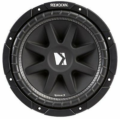 Kicker Comp 43C104 10 Inch 300 Watt SVC 4 Ohm 86.2 dB Car Au