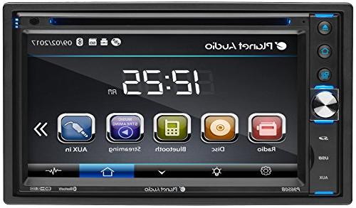 Planet Audio Touchscreen Bluetooth DVD 6.5-Inch