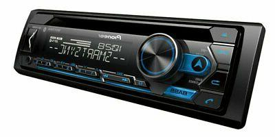 "Pioneer Player Bluetooth + JVC CS-J620 6.5"" 300W Speaker"