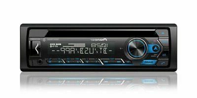 Pioneer DEH-S4200BT 1-DIN CD Player + JVC CS-J620