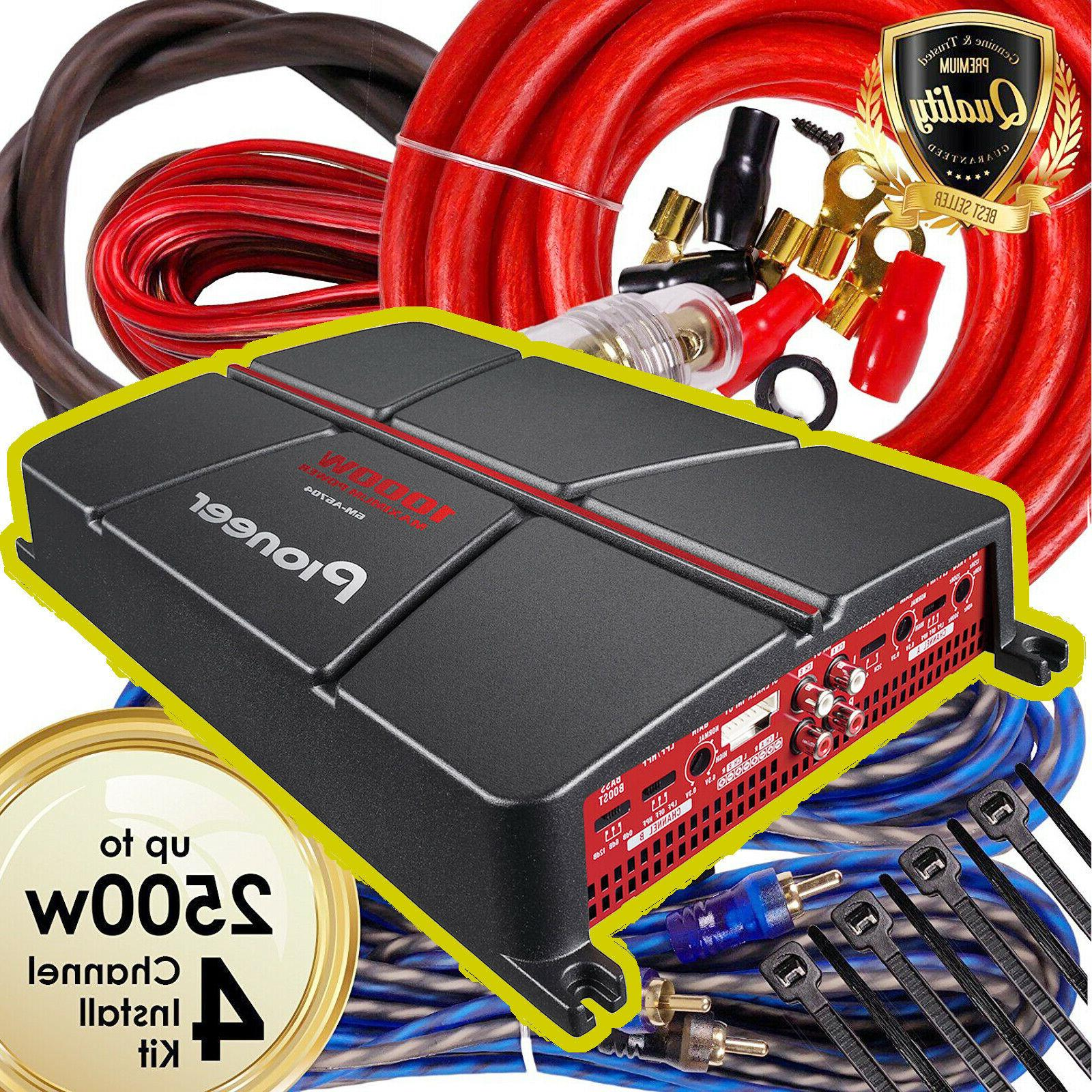 Pioneer GM-A6704 1000 4-Channel Class Audio Amp Kit